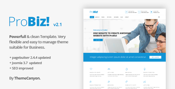 NewsFlash - Joomla News & Magazine Template