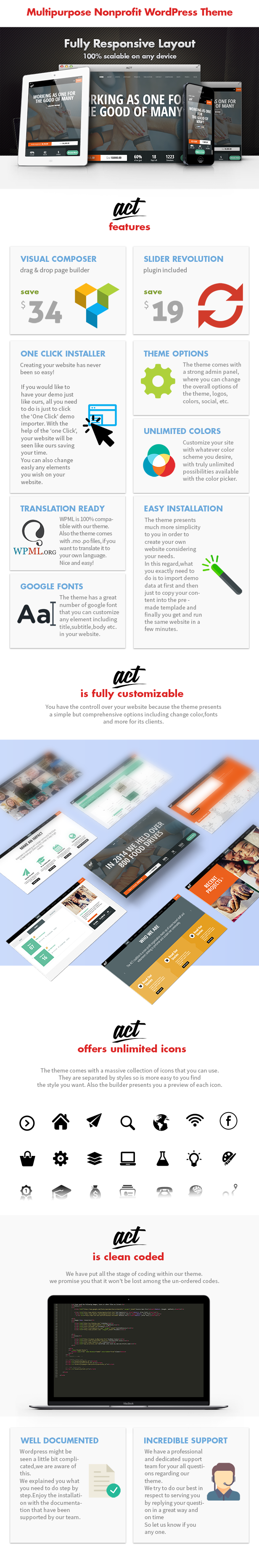 Act - Multipurpose Nonprofit Theme