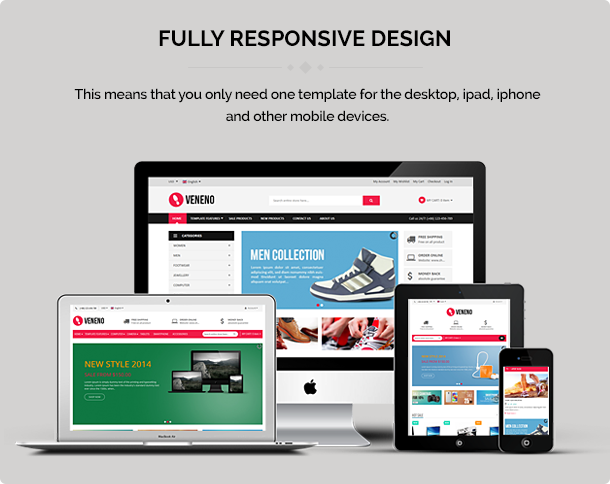 Veneno - Multipurpose Joomla eCommerce Template