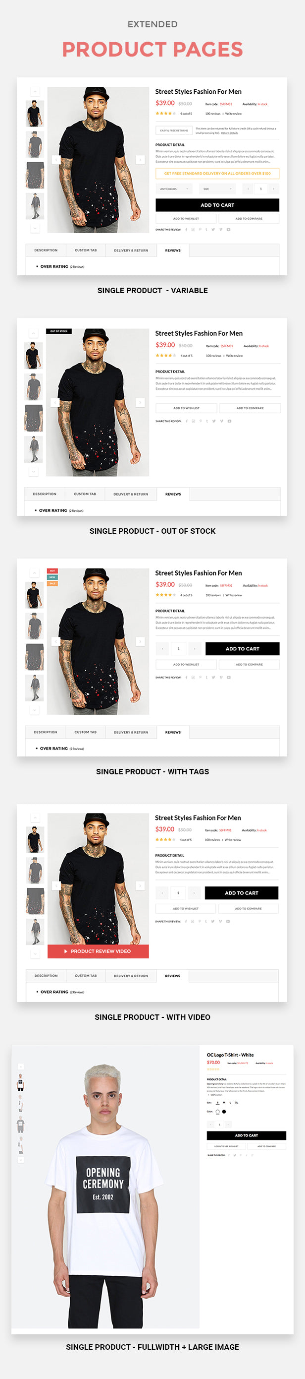 Vision - Clean DRAG and DROP Fashion, Digital Shopify Theme