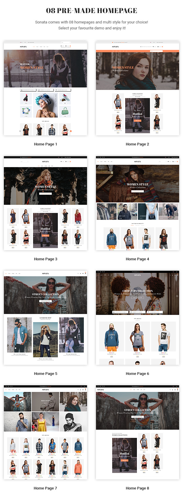 Sonata – Fashion, Clothing & Accessories PrestaShop 1.7 Theme
