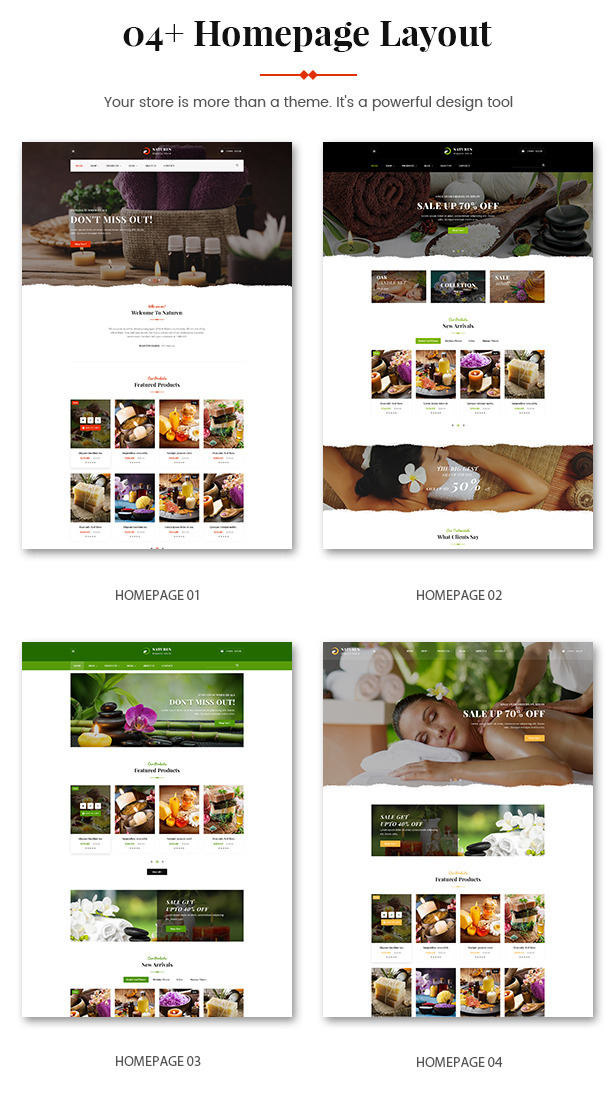 Naturen - Organic Beauty & Natural Cosmetics PrestaShop 1.7 Theme