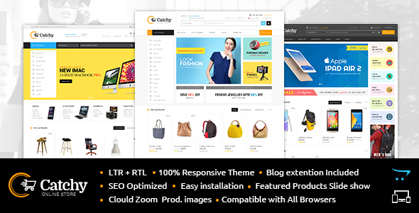 Coffee Shop - Opencart Responsive Template