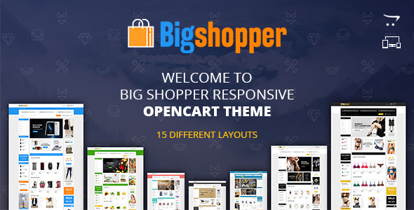 Fashion Feast - Opencart Responsive Theme