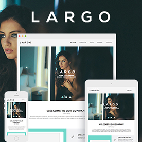 Humble - One Page & Multi Page Modern Muse Template