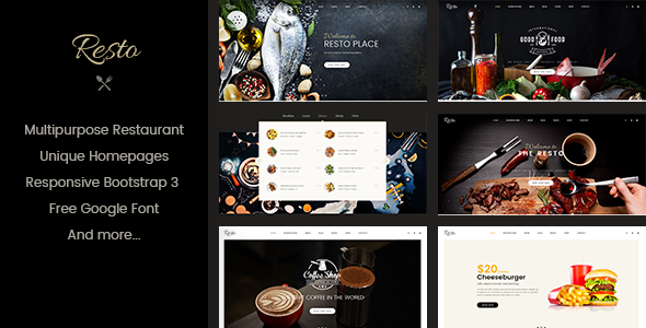 RavoRes - Multipurpose Restaurant & Cafe WordPress Theme
