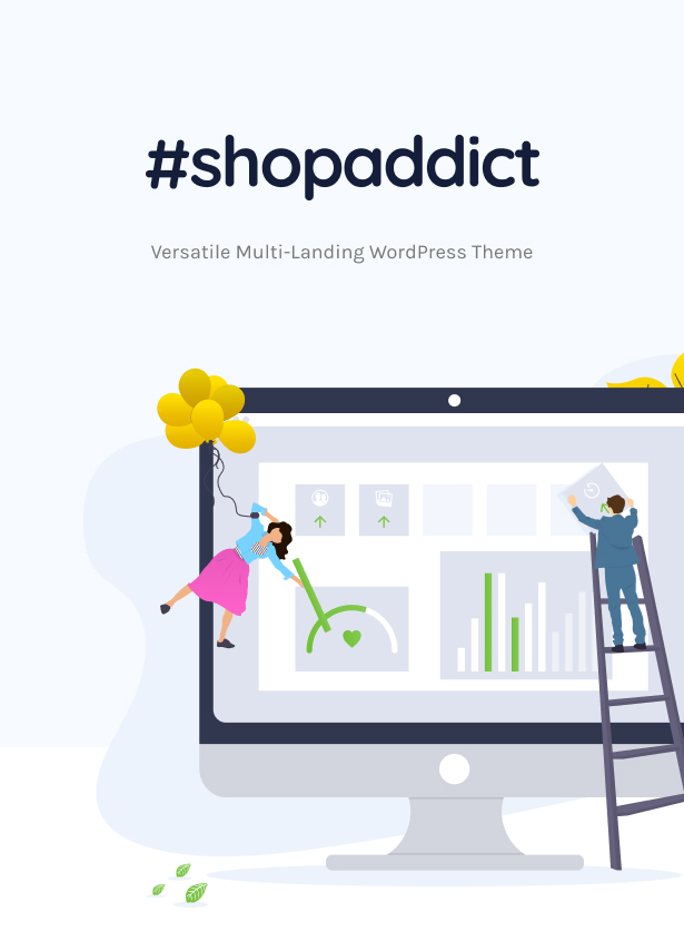 Shopaddict - WordPress Landing Pages To Sell Anything