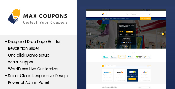 Comre - Coupon & Offers PSD Template