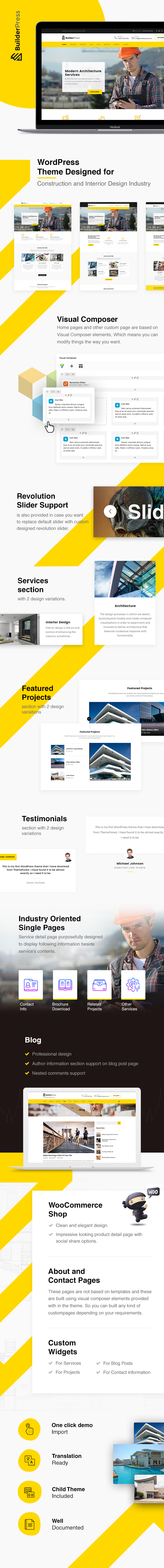 BuilderPress - WordPress Theme for Construction, Architecture and Interior Design Industry