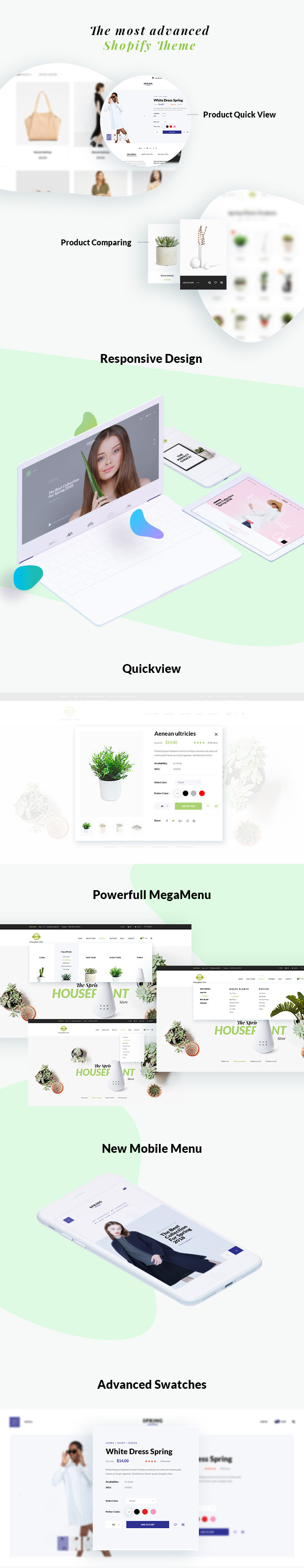 Spring - Multipurpose Shopify Sections Theme