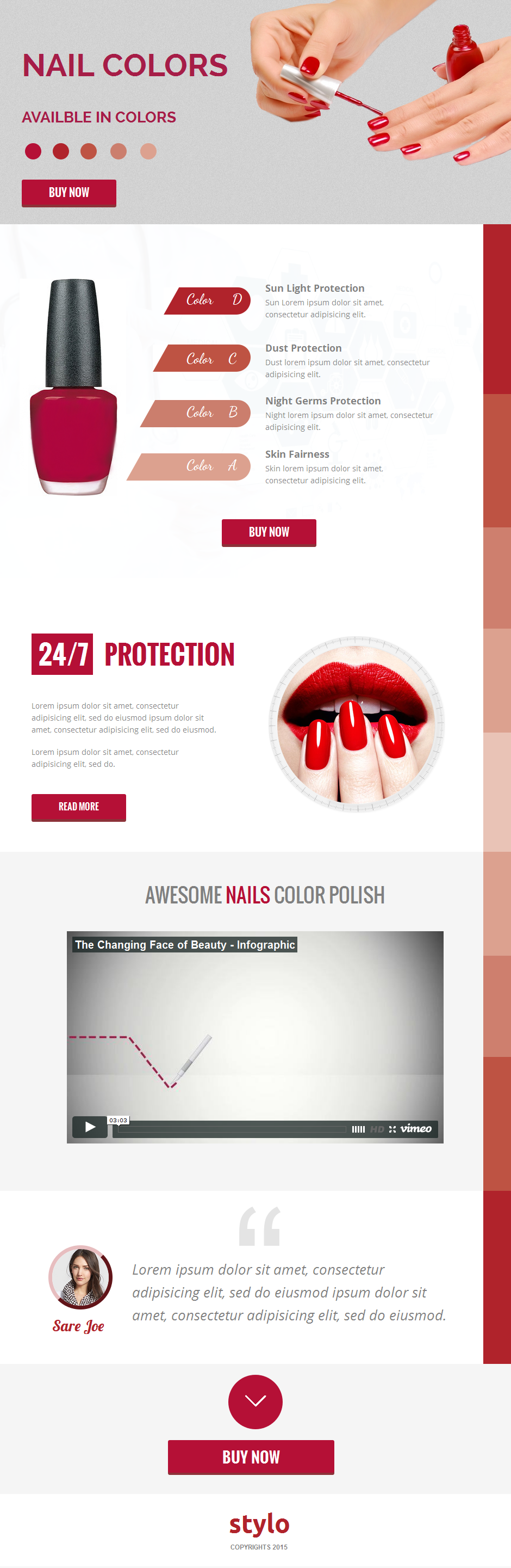 Stylo Unbounce Template