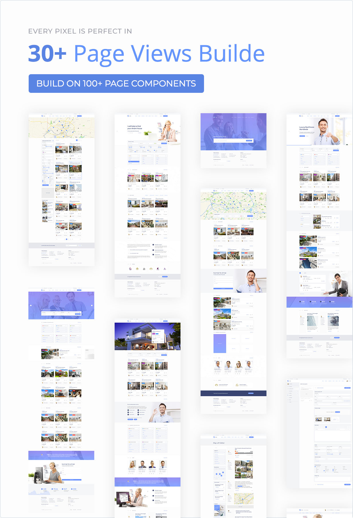 Area — Real Estate Agency and Realtor HTML Template